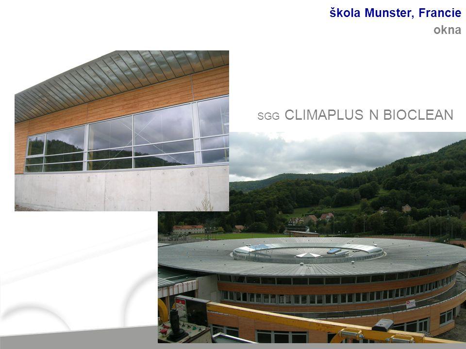 škola Munster, Francie okna SGG CLIMAPLUS N BIOCLEAN