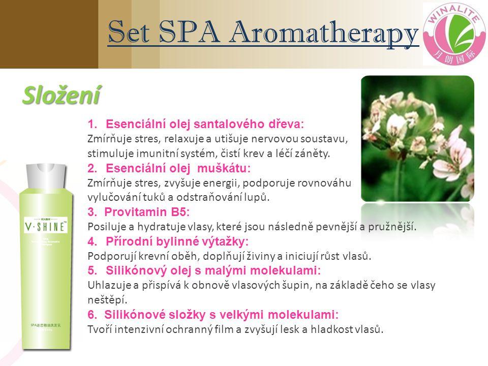 1.Esenciální olej santalového dřeva: Zmírňuje stres, relaxuje a utišuje nervovou soustavu, stimuluje imunitní systém, čistí krev a léčí záněty.