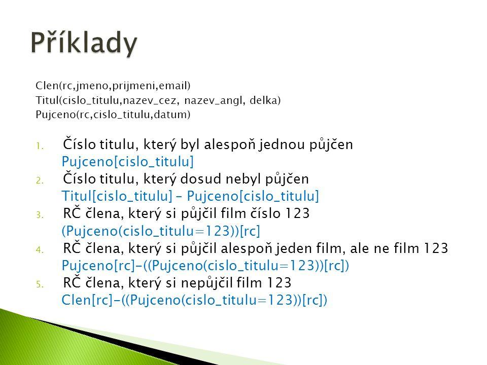  Select SUM(Věk) as CelkovýVěk from Student Student LoginPříjmeníJménoVěk Dra025DrábekTomáš23 Sip001ŠípkováRůžena29 Zub011ZubatáEvaNULL Nov098NovákBohumil13 CelkovýVěk 65