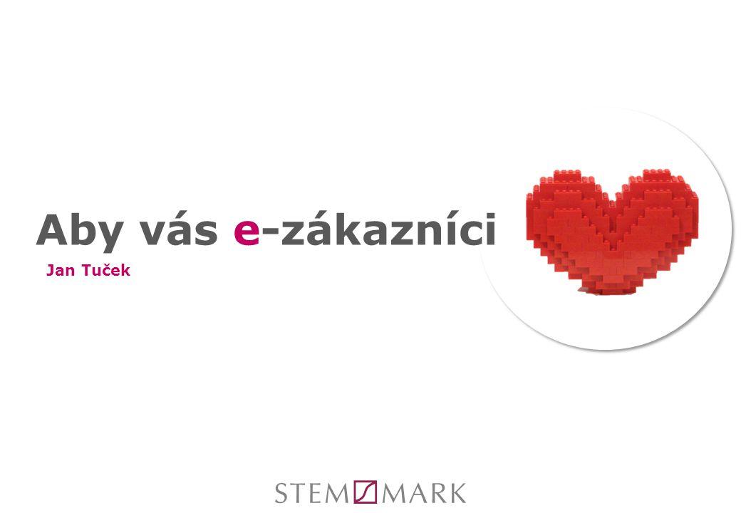 Aby vás e-zákazníci Jan Tuček
