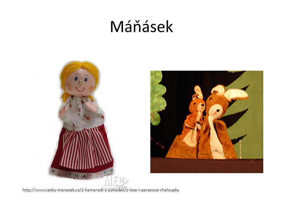 Máňásek http://www.cesky-manasek.cz/2-kamaradi-z-pohadek/z-lesa-i-parezove-chaloupky