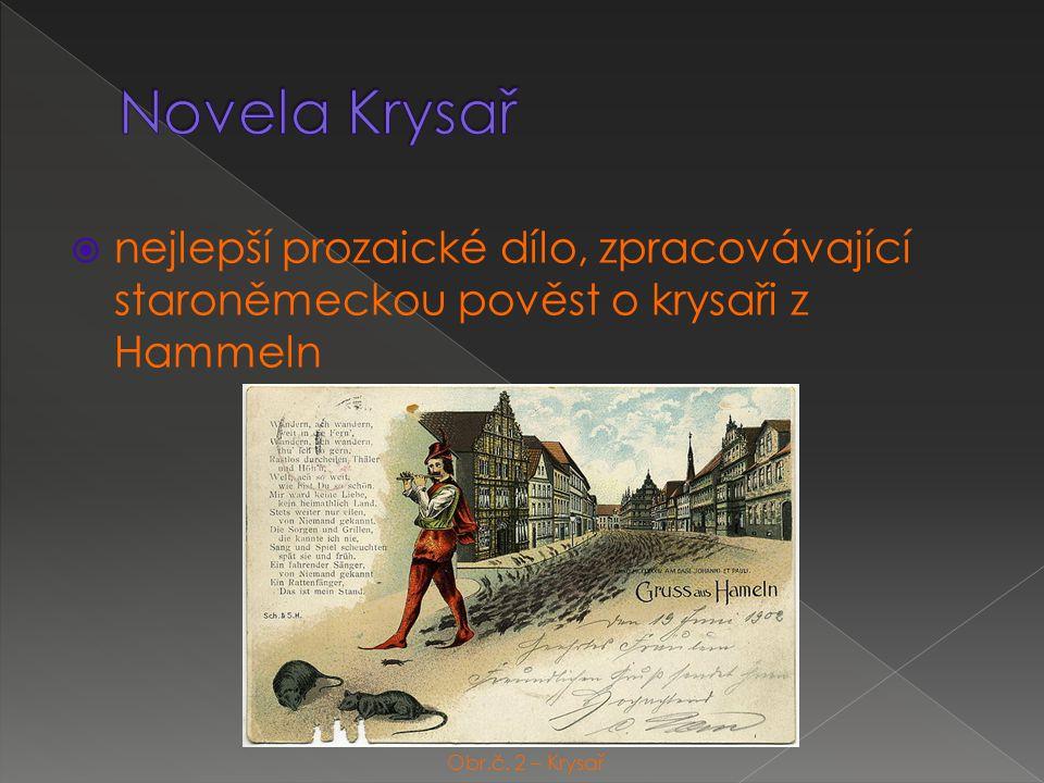  nejlepší prozaické dílo, zpracovávající staroněmeckou pověst o krysaři z Hammeln Obr.č.