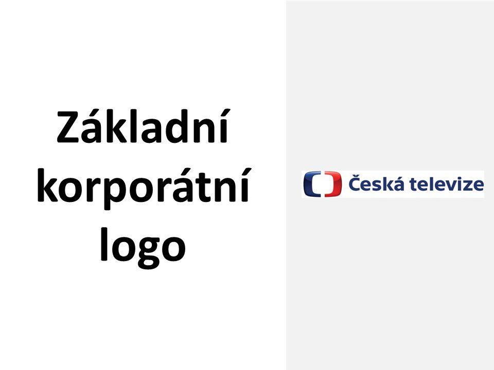 Česká televize; redesign loga ČT; únor 2012 10 Základní korporátní logo