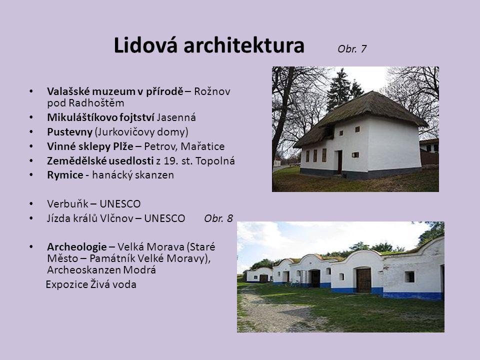 Lidová architektura Obr.