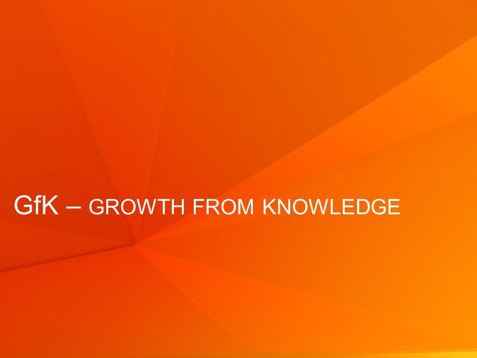 © GfK 2013 | StarchMetrix – Síla tiskové reklamy24 GfK – GROWTH FROM KNOWLEDGE