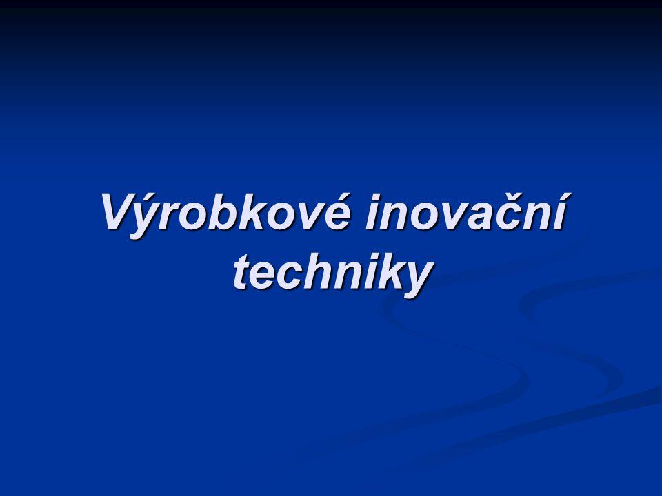 Výrobkové inovační techniky