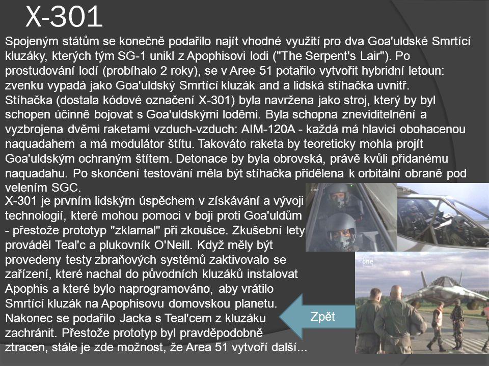 Usirevův amulet •Epizoda: The Curse Je deset tisíc let starý. Znázorňuje Usireva, který drží v rukou odznaky královské moci - berlu a důtky (v českém