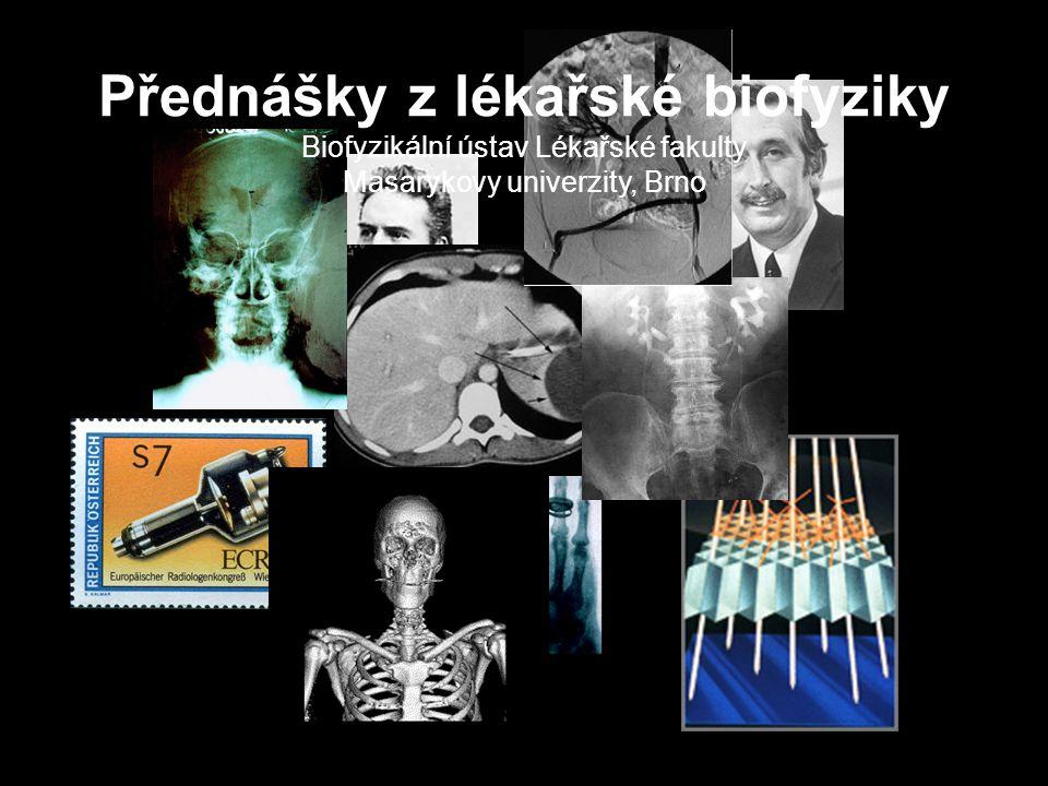 Přednášky z Lékařské biofyziky Rentgenové zobrazovací metody 12 Průchod rtg záření tělem pacienta  Rentgenové záření vycházející z malé ohniskové plošky anody se šíří všemi směry.