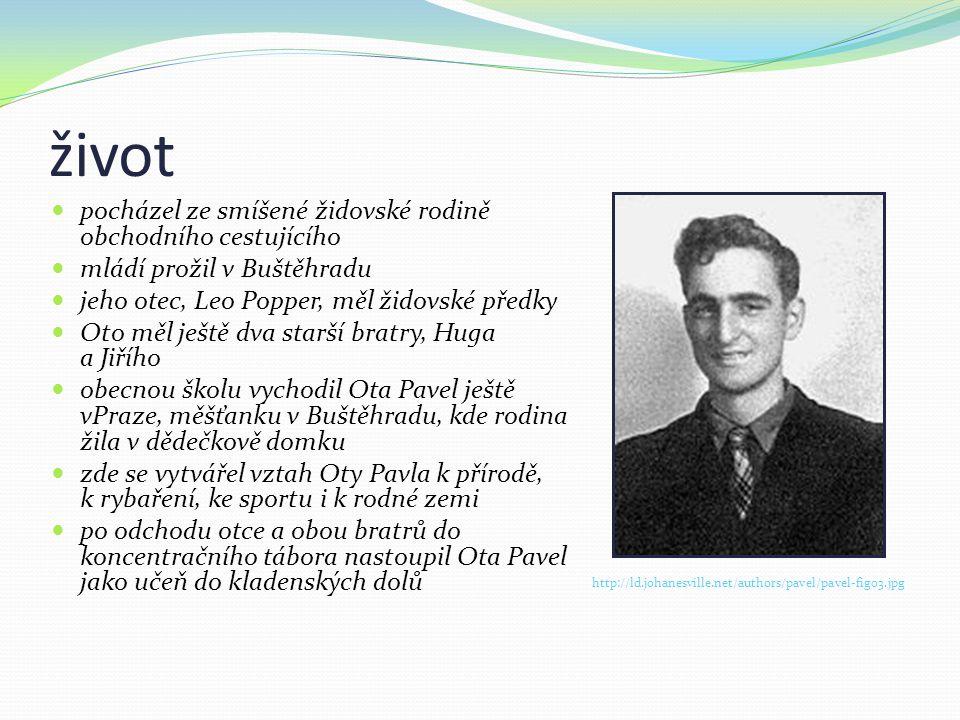 život  pocházel ze smíšené židovské rodině obchodního cestujícího  mládí prožil v Buštěhradu  jeho otec, Leo Popper, měl židovské předky  Oto měl