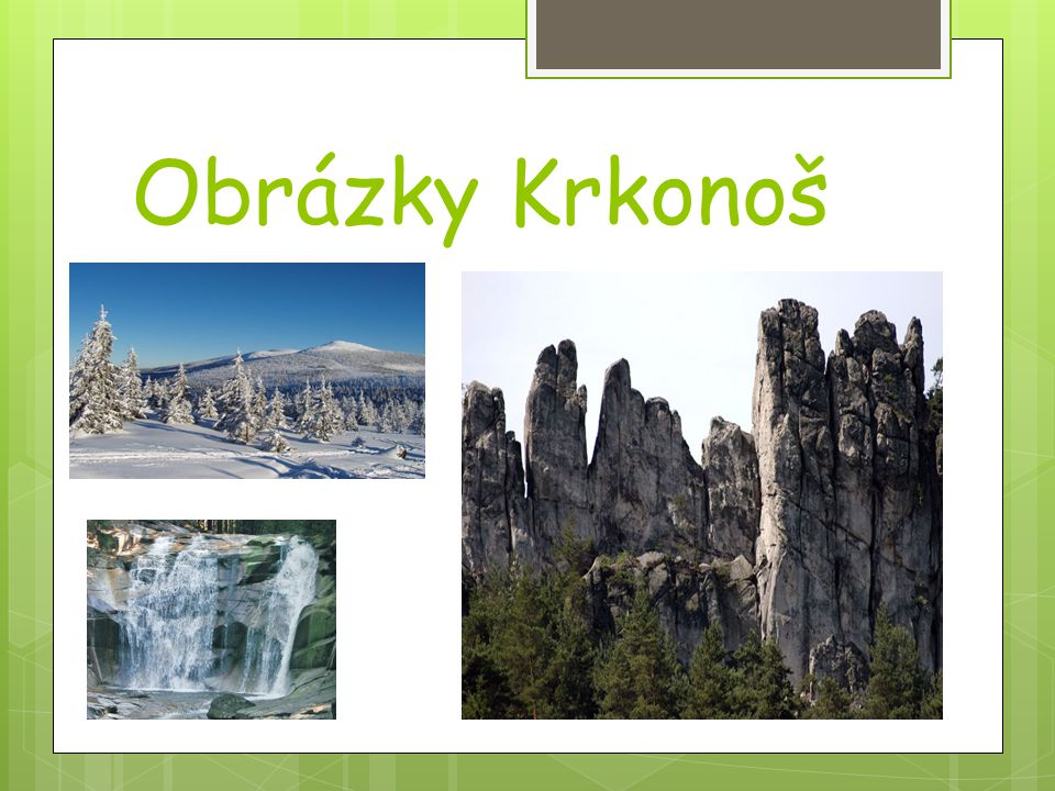 Obrázky Krkonoš