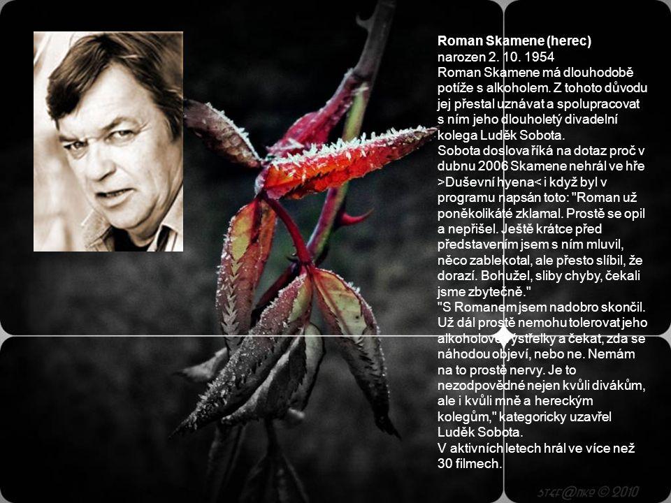 Karel Augusta (herec, léčen) narozen 20. 6. 1935, Praha, zemřel 30.5.1998 Modrooký komik toho stihl hodně, a to ho ještě o dost času připravily hospod