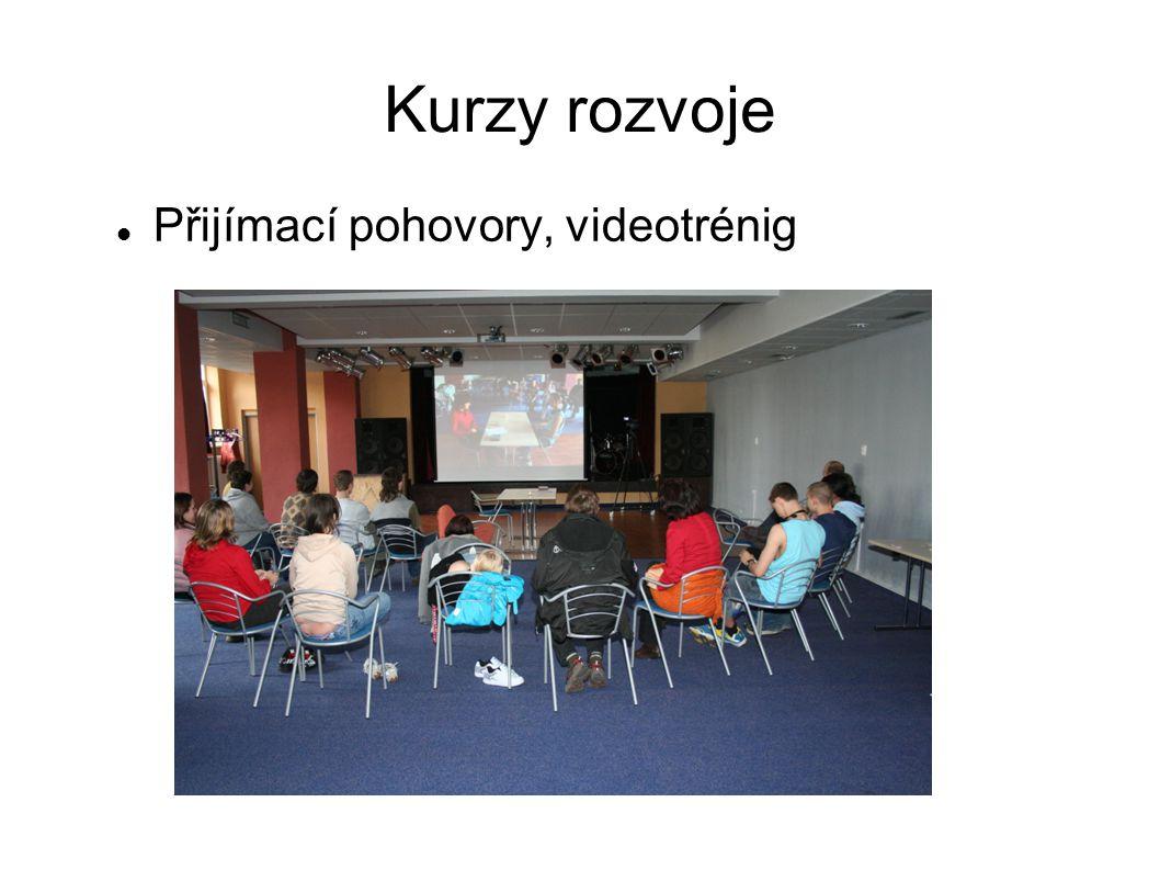 Kurzy rozvoje  Přijímací pohovory, videotrénig