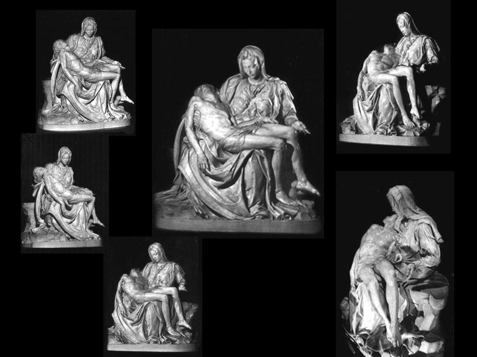 1498 – 1500 Michelangelovi bylo 22 let když na žádost francouzského kardinála započal tvořit pro kapli v bazilice sv. Petra v Římě, úžasné sousoší P I