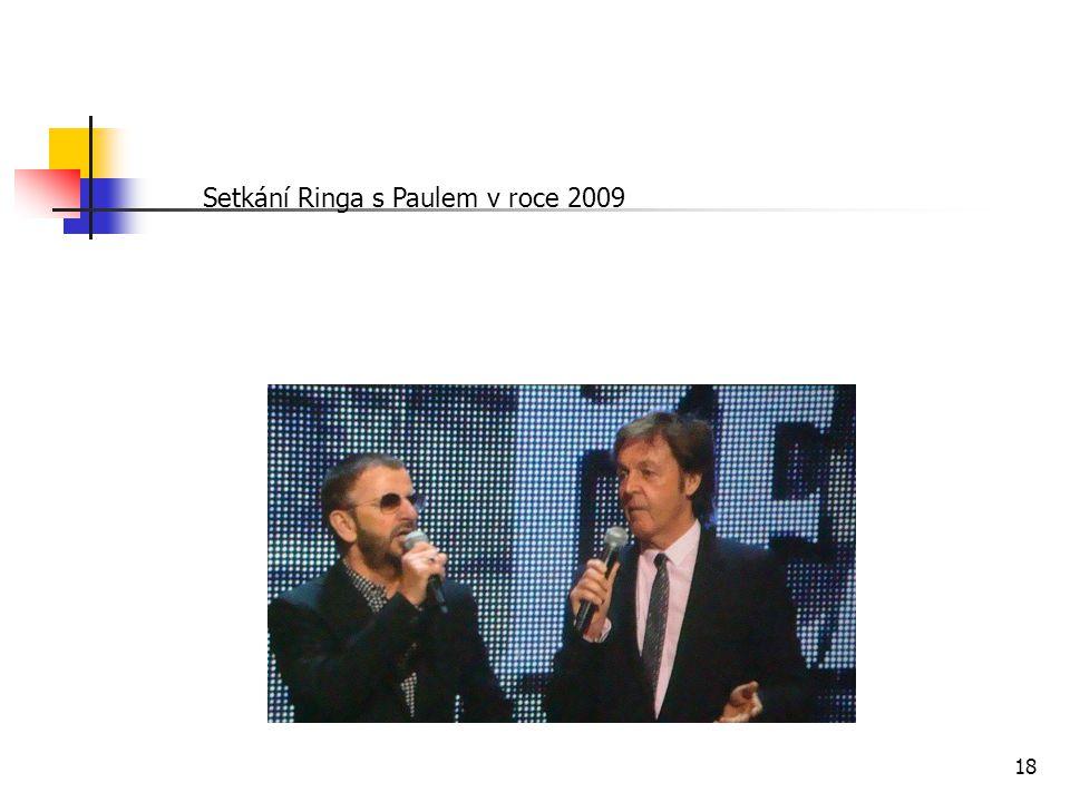 Setkání Ringa s Paulem v roce 2009 18