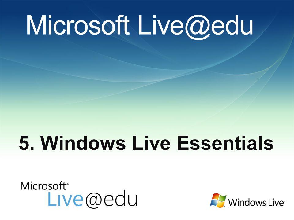 Co je Windows Live Essentials .