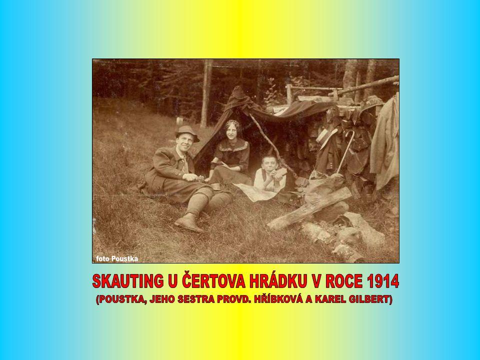 VE DNECH 11. – 12. 2. 1922 POŘÁDAL OKČT TÁBOR LYŽAŘSKOU EXKURZ NA ČEŘÍNEK
