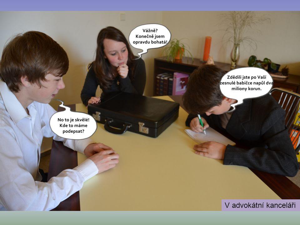 V advokátní kanceláři