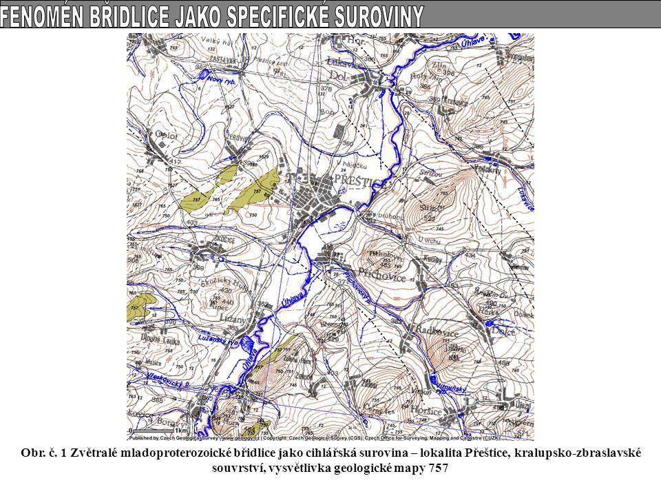 Přehledná geologická mapa Nízkého Jeseníku (J.