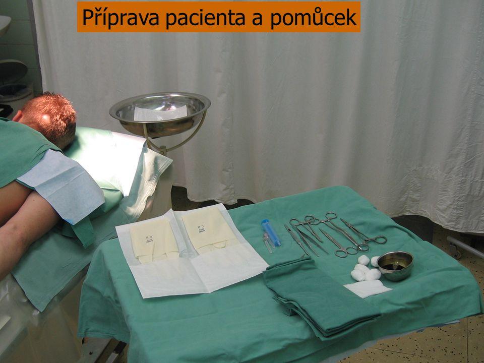 Dezinfekce operačního pole