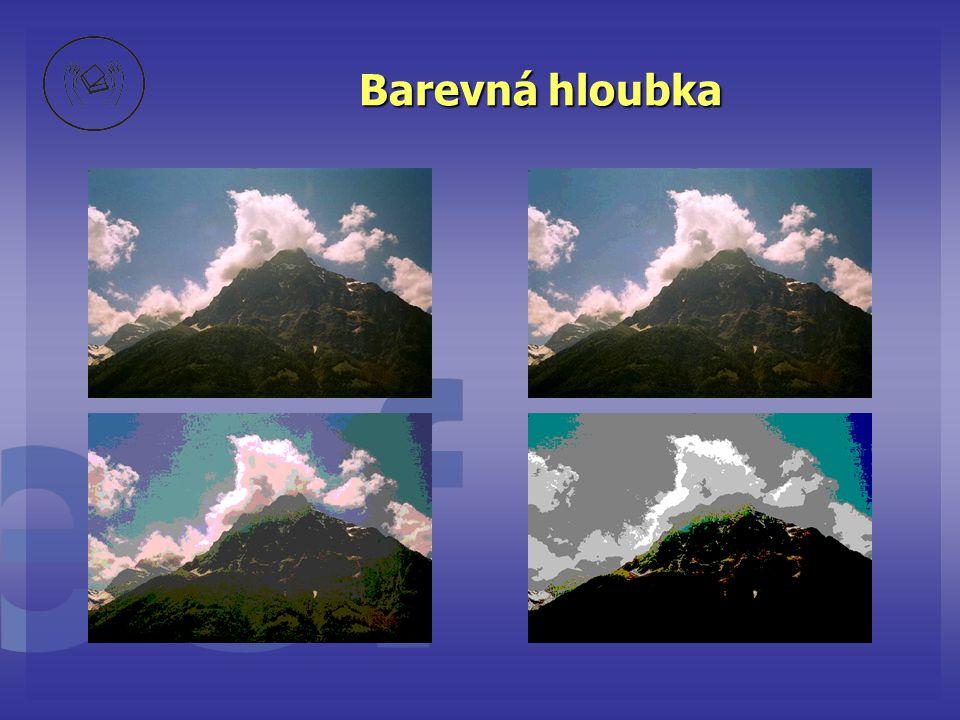 základní nástroje bitmapových editorů •klonovací štetec (Clone Brush) – umožňuje kopírování části obrázku na jiné místo •fixírka (AirBrush) – podobné štětci, někdy chybí •výplň (Fill) – vyplňuje ohraničenou plochu barvou, vzorkem, barevným přechodem… •obrázková tuba (Picture Tube) – kliknutím LT umístíte na plochu různé předpřipravené motivy •reliéfní štětec, retuš (Retouch) – umožńuje lokální změny a opravy obrázku – rozmazání barev, ztmavení, zaostřední apod… •vektorové prvky – text, pero, a základní tvary (obdélník, kruh..)