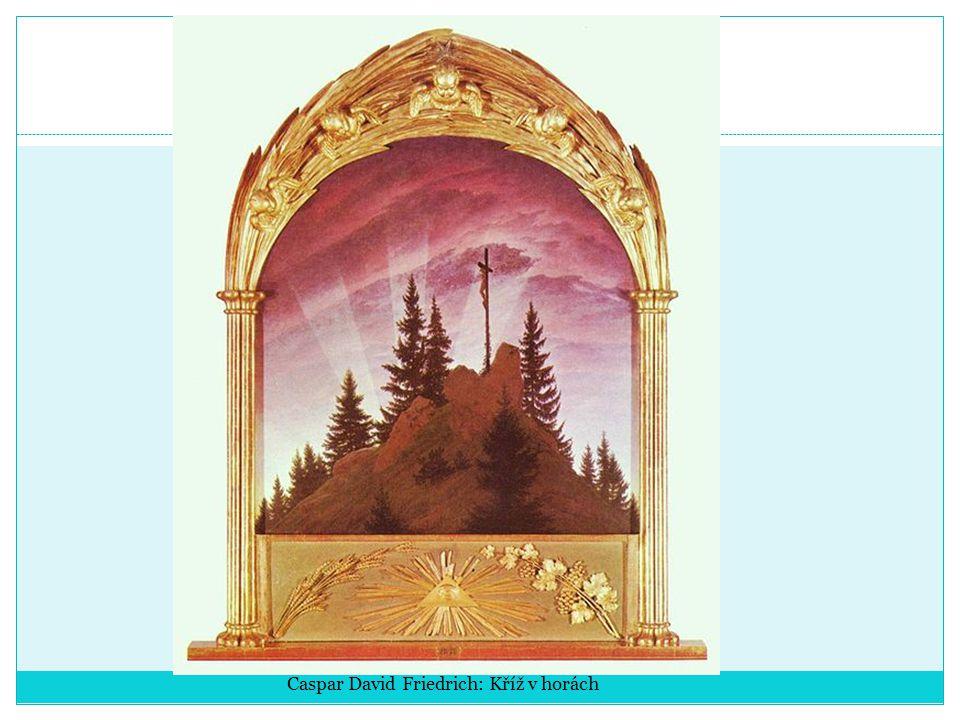 Caspar David Friedrich: Kříž v horách