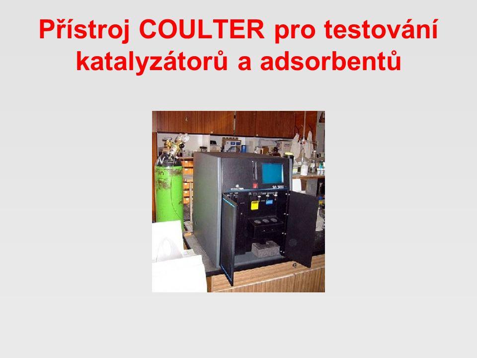 Přístroj COULTER pro testování katalyzátorů a adsorbentů