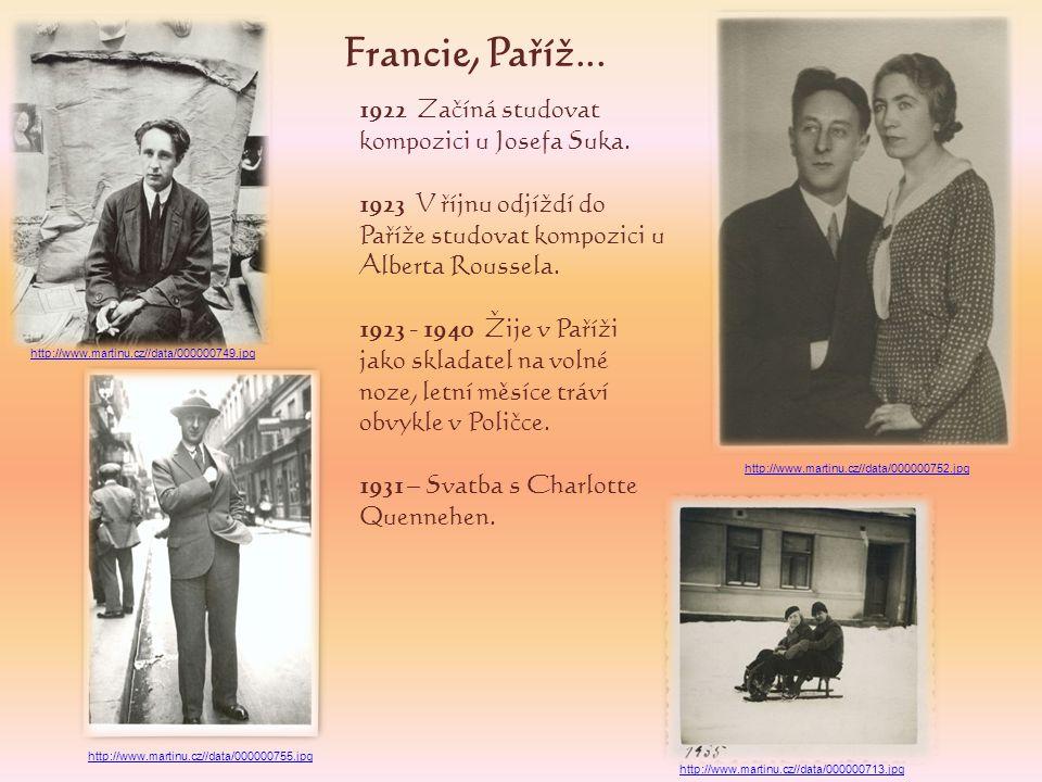 1937 – Seznámení se skladatelkou Vítězslavou Kaprálovou, která se později stane na čas jeho žačkou a milenkou.