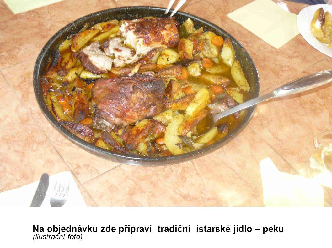 Na objednávku zde připraví tradiční istarské jídlo – peku (ilustrační foto)