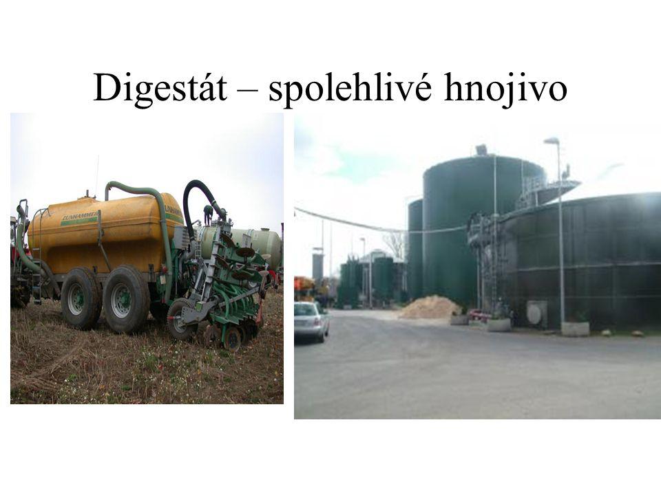 Digestát – spolehlivé hnojivo