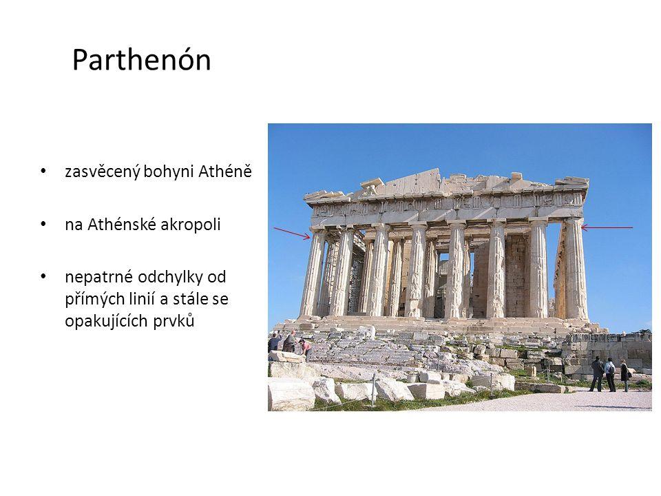 Diův chrám v Olympii • byl považován za jeden ze sedmi divů světa • vybudován dórském řádu • postaven v letech 466 - 456 př.n.l.