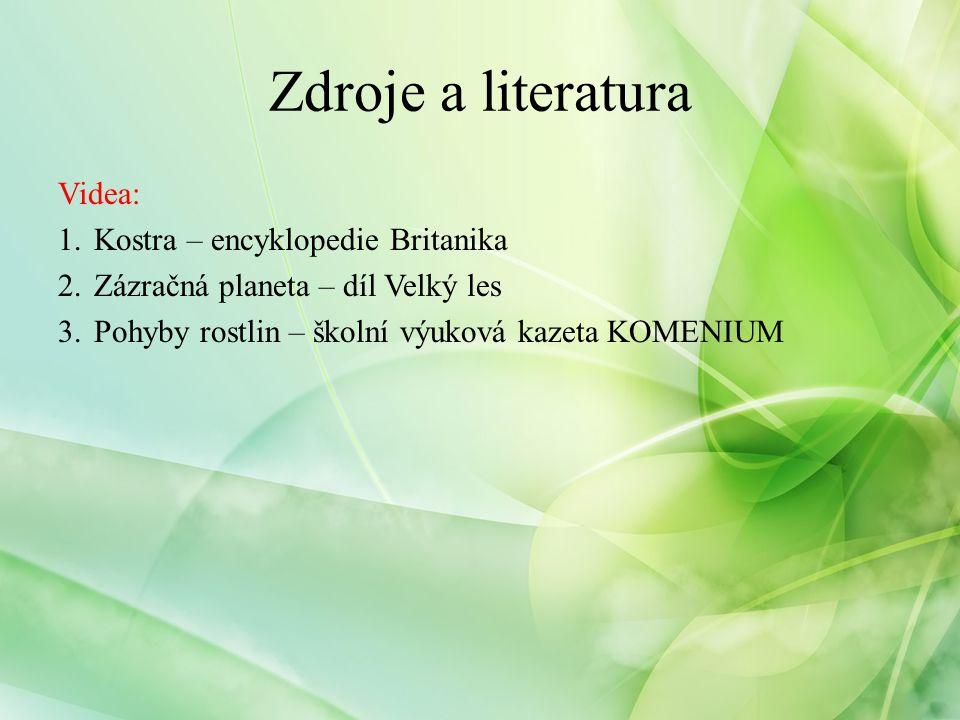 Internetové zdroje: http://en.wikipedia.org/wiki/Glucose http://www.csophorepnik.estranky.cz http://www.zahrada.biz/bambusy http://leccos.com/index.php/clanky/bambus http://www.biologia.edu.ar http://www.darwiniana.cz http://www.botanickafotogalerie.cz http://www.agroweb.cz/ http://www.inzahrada.cz/ http://www.naturephoto-cz.com.html http://www.wikidict.de/en/toplist/cs/Kloub http://map.www.veskole.cz http://leccos.com/index.php/clanky/koren http://www.buzzle.com/articles/