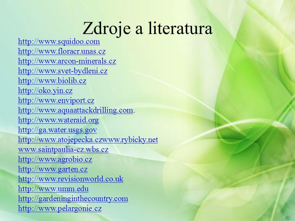 http://www.zahradavkapse.cz http://subsistencepatternfoodgarden.blogspot.com http://www.nahuby.sk http://ruze.wi.cz http://www.zahradni-radce.cz http://vyuka.jmzstrinec.cz http://www.cz-flora.cz www.svet-potravin.cz www.ozahrade.webnode.cz www.biologie.uni-hamburg.de www.sci.muni.cz www.botanichka.ru www.biolib.cz http://rostliny.prirodou.cz/ http://vyuka.webovka.eu/ Zdroje a literatura