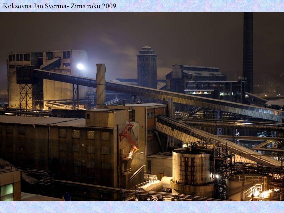 Koksovna Jan Šverma- Zima roku 2009