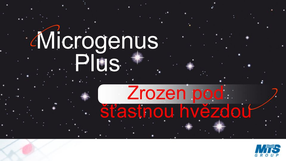 Microgenus Plus Zrozen pod šťastnou hvězdou