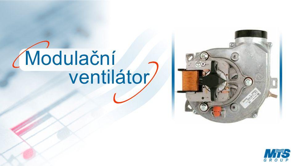 Modulační ventilátor