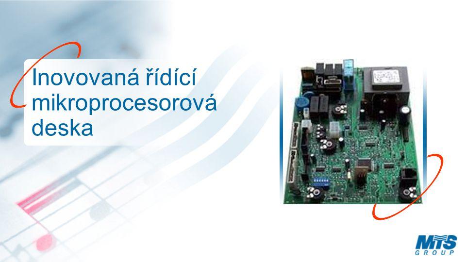 Inovovaná řídící mikroprocesorová deska