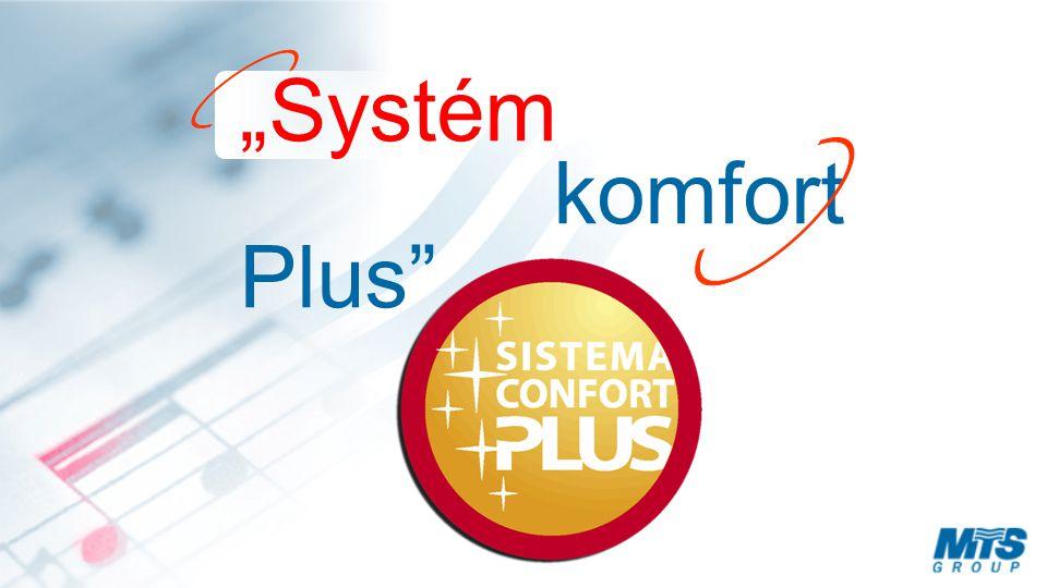 """""""Systém komfort Plus"""