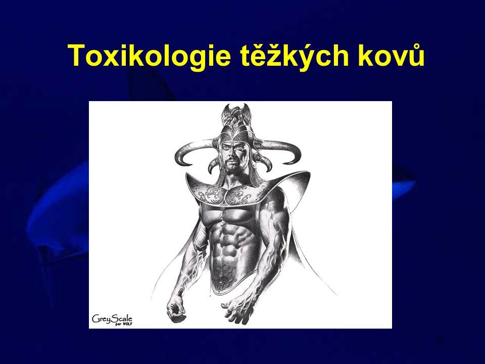 10 Toxikologie těžkých kovů