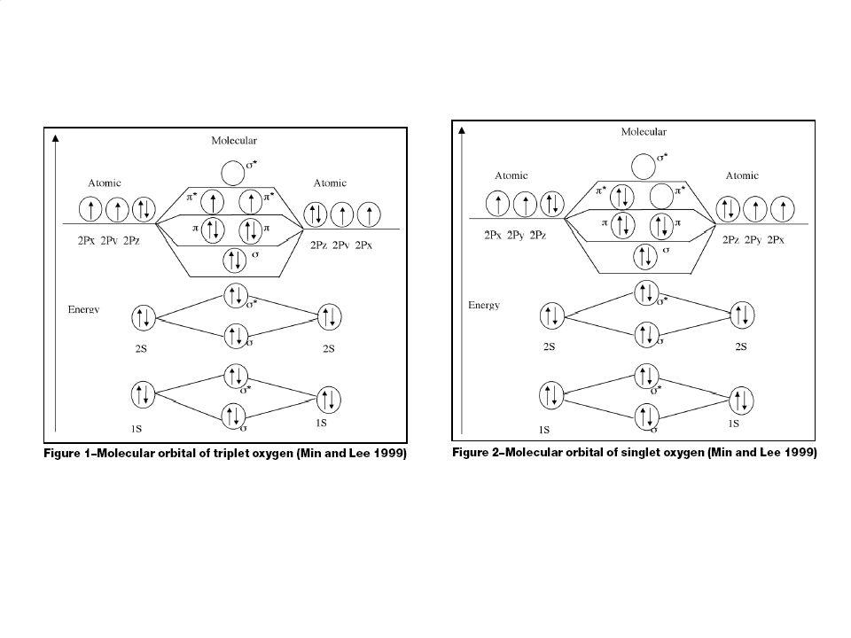 2 Volné radikály Částice s nepárovým elektronem •superoxidový anion O 2 -2s2p ¨ ¨.O—O ¨¨.... Vznik radikálů •homolytické štěpení vazby •přijetí elektr