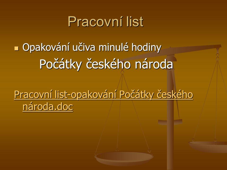 Kněžna sv.Ludmila – babička a vychovatelka sv. Václava Král Přemysl Otakar I.