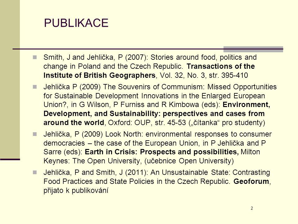 13 ROZSAH SAMOZÁSOBITELSTVÍ V EU A TURECKU (2003) ) Source: Alber and Kohler (2008