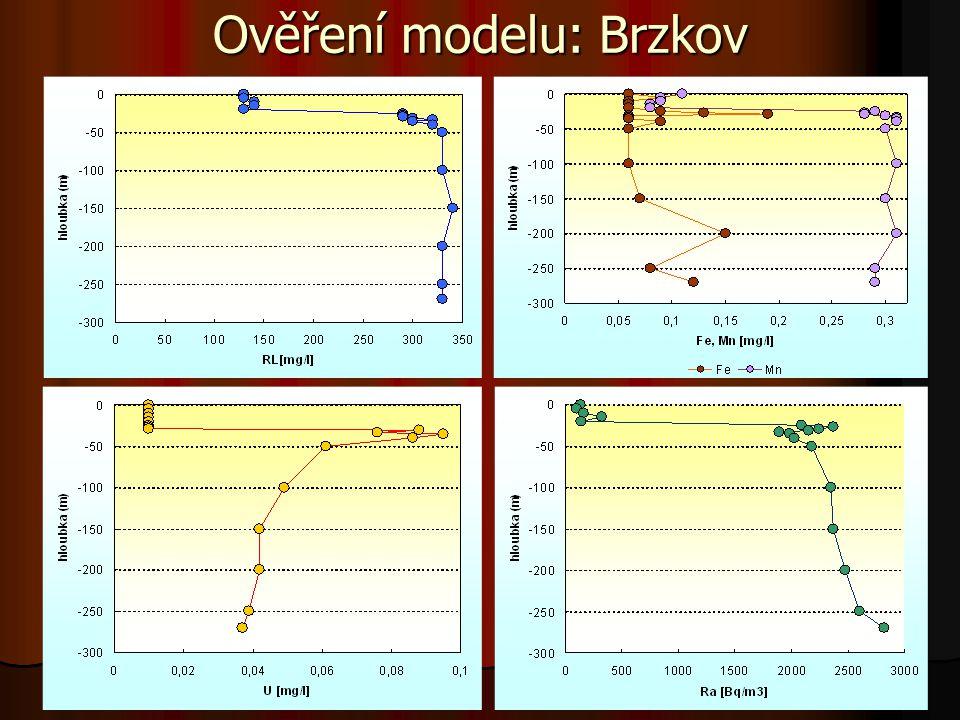 Ověření modelu: Brzkov