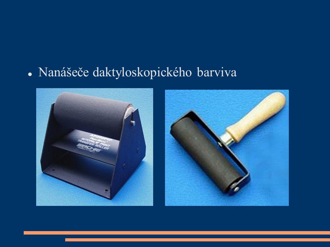  Nanášeče daktyloskopického barviva