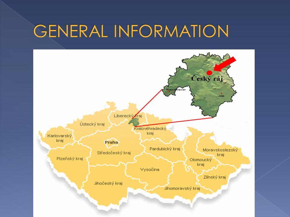  the19th century  50 km north-east of Prague  Mladá Boleslav, Mnichovo Hradiště, Hodkovice nad Mohelkou, Kopanina, Železný Brod, Semily, Nová Paka, Jičín, Kopidlno, Sobotka, Dolní Bousov