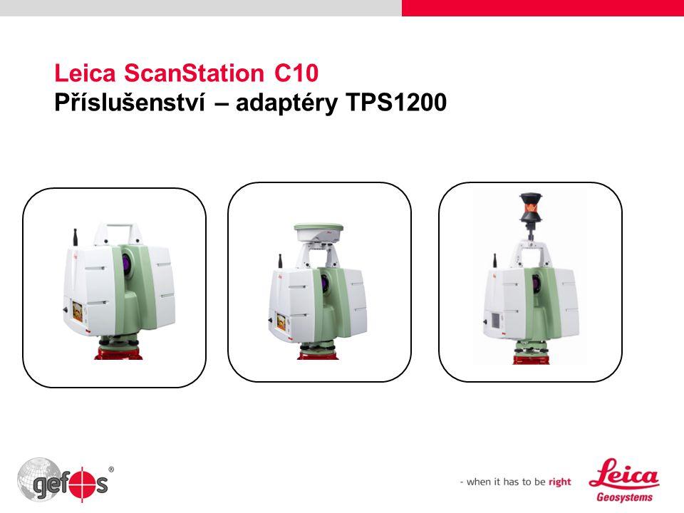 24 Leica ScanStation C10 Příslušenství – adaptéry TPS1200
