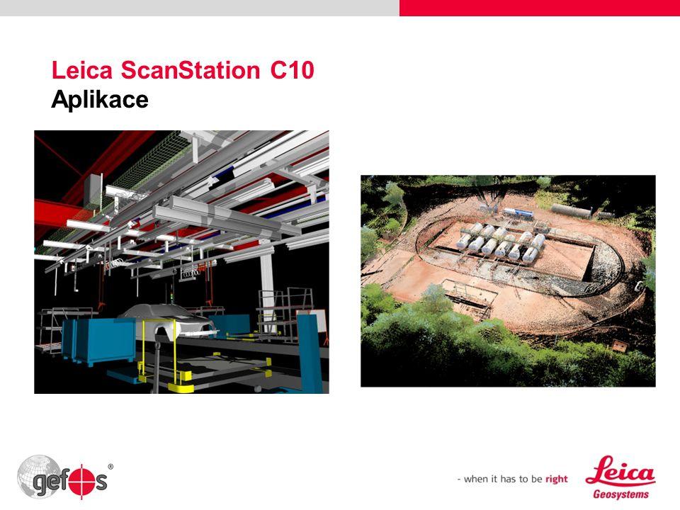 36 Leica ScanStation C10 Aplikace