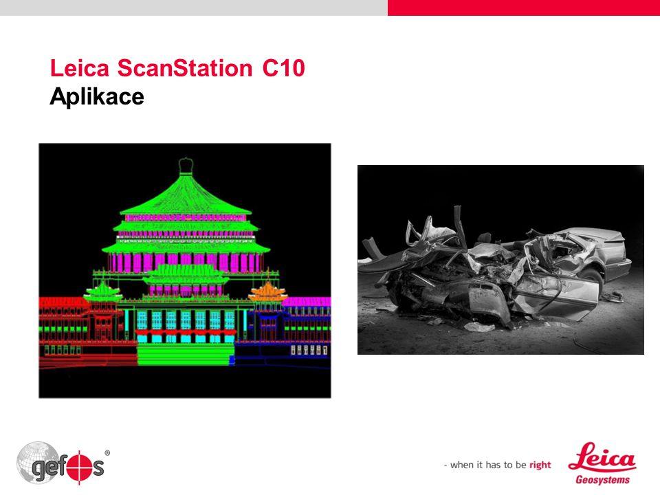 37 Leica ScanStation C10 Aplikace