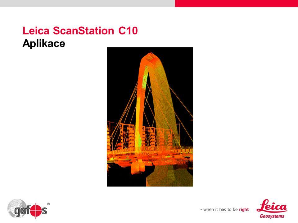 38 Leica ScanStation C10 Aplikace