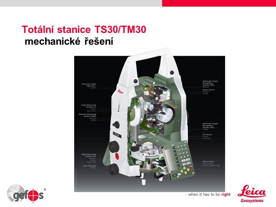 5 Totální stanice TS30/TM30 mechanické řešení