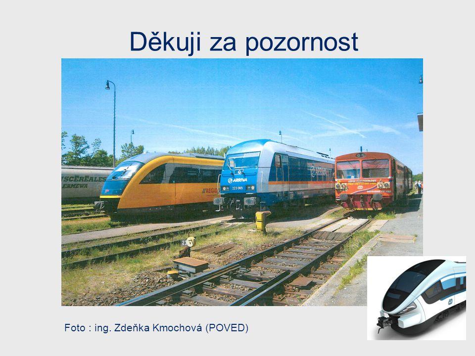 Děkuji za pozornost Foto : ing. Zdeňka Kmochová (POVED)
